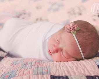Flower headband, baby headbands, felt flowers headband , flower headband, newborn headband