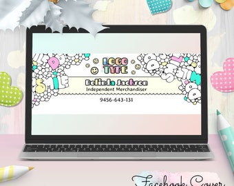 Coloring Dot Dot Smile Facebook Cover, DDS FB Cover, for Merchandiser