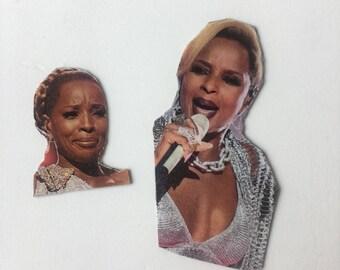 Mary J Blige Inspired Magnet Set