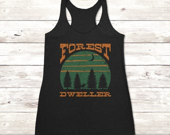 Forest Dweller Ladies Tank Top
