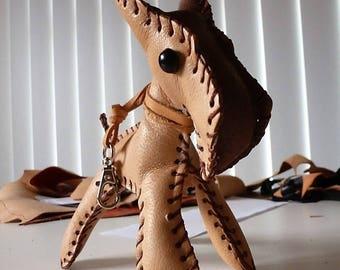 Mini fox terrier leather 4 legs