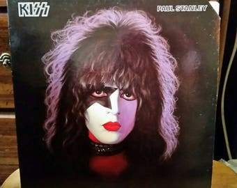KISS Paul Stanley Vinyl Record