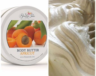 Apricot Organic Body Butter - 8 oz