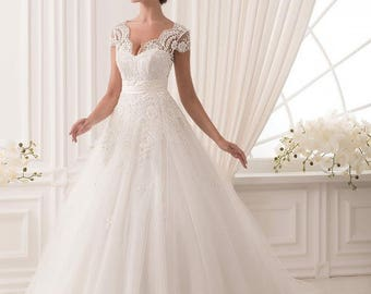 Wedding dress ''Selena'' from NYC Bride, made in Europe