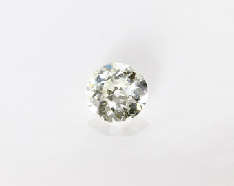 Antique Old European Cut Diamond, L SI1, 0.55 Ct