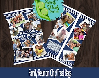 Family Reunion Printable Chip/Treat Bags