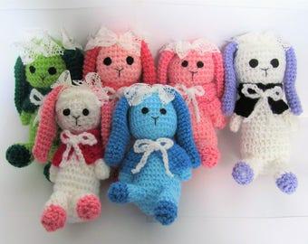 Crocheted Bimble Bunny - Stuffed