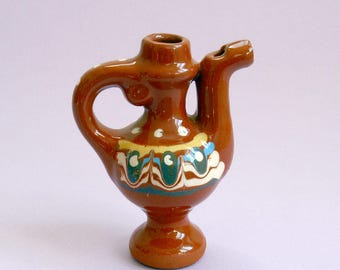 Water Whistle,Ceramic Pitcher Whistle, Musical instrument vintage