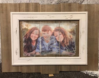 Photo Wood Transfer! Custom made to Order. FREE SHIPPING!!!