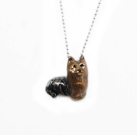 Yorkshire terrier necklace yorkie necklace yorkie pendant yorkshire terrier necklace yorkie necklace yorkie pendant yorkie lover gift dog necklace sterling silver dog necklace dog lover gift aloadofball Choice Image