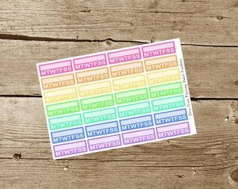 Habit Tracker Stickers