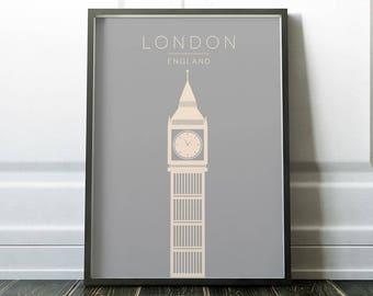 Wall Art, London Print, Travel Print, London Poster, Wall Art Print, Poster, London Travel Print, City Print, London Art, Travel Art, Prints