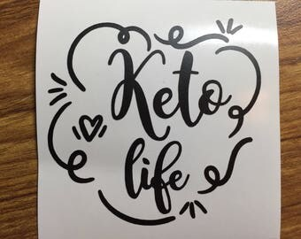 Keto life decal Pruvit shirt Pruvit decal Pruvit ketones keto business cards keto decal keto os ketogenic diet #31