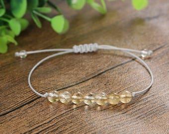 Citrine Chakra Balancing Bracelet