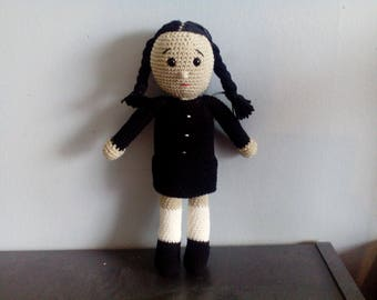 Wednesday adams doll the adams family