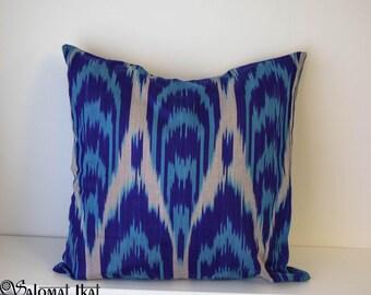 Handmade, handwoven ikat cushions, pillows