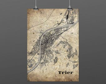Trier DIN A4 / DIN A3 - print - turquoise