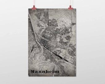Mannheim - A4 / A3 - print - OldSchool