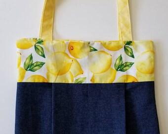 Lemons Jean Handbag