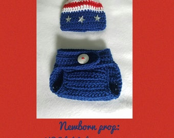 Infant Boys' USA Prop Set
