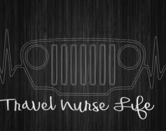 Jeep- Travel Nurse Life