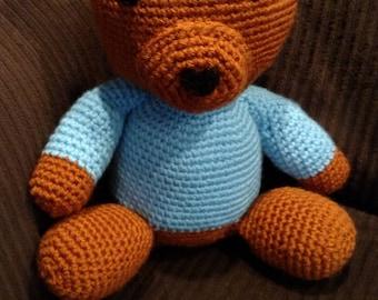Hand Crocheted Care Bear