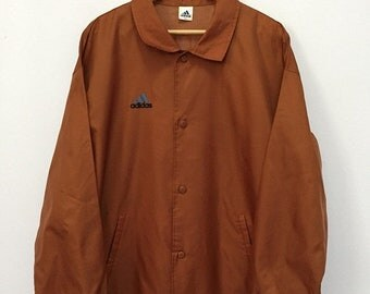 SALE 25% Vintage 90s Adidas Windbreaker Jacket Hip Hop Size M-L