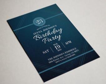 Birthday Party Invitation, Party Invite Card, Birthday Party, Dreamy Birthday Invitations #16