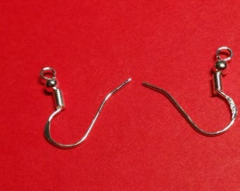STERLING silver ear hooks