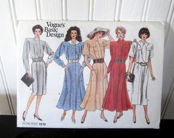 Vogue Basic Pattern 1910