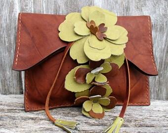 Lether Clutch Bag