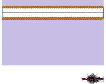 In the Hoop Coin Purse Machine Embroidery Design - Zipper Pouch