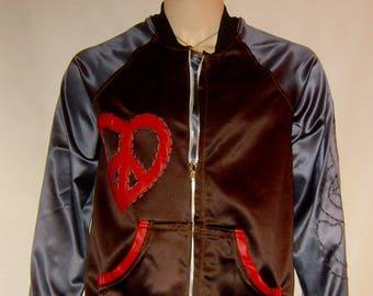 Mens hand applique jacket