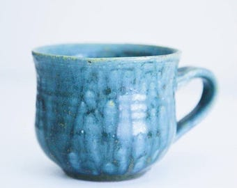 ON SALE Medium Size Pottery Coffee / Tea Mug