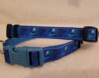 Sports Handmade Dog Collar 5/8 Inch Wide Small Or Medium