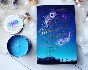 Story Teller Queen | A Thousand Nights Inspired Soy Candle