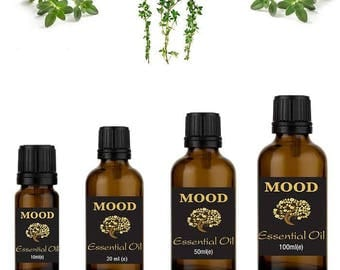 Thyme essential oil natural aromatherapy essential oils