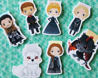 Winter is Here Magnetic Bookmark Set