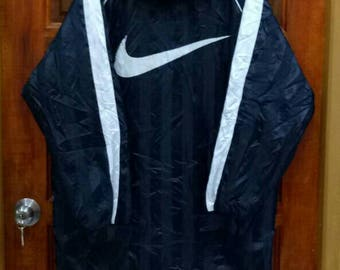 nike long coat
