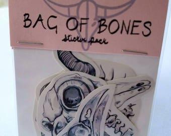 Bag of Bones Sticker Pack