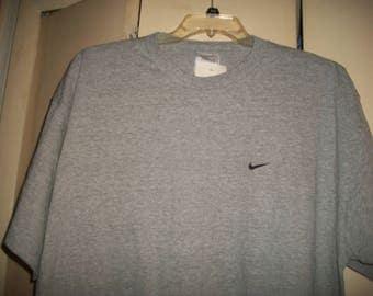 Vintage 90's Gray Nike T-Shirt, NWT, Size XL
