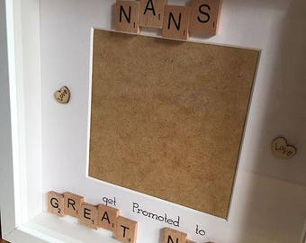 Only The Best Nans get Promoted to Great Nans Box Frame