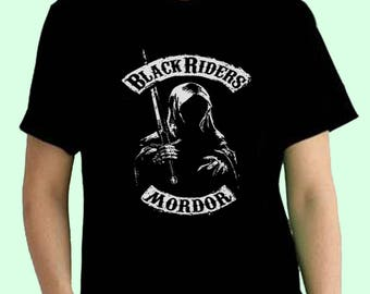 Black Riders Mordor LOTR Lord Of The Rings Movie Inspired. Male and Female T-shirt