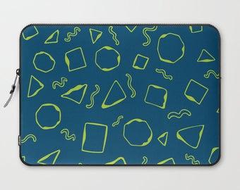 Blue Laptop Sleeve, Laptop Cover, Sleeve, Laptop Sleeve 13, Laptop Sleeve 15, MacBook Sleeve 13, Laptop Sleeve 13 inch, Laptop Sleeve 15 in
