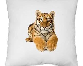 Housse de Coussin 40x40 cm - Tigre - Yonacrea