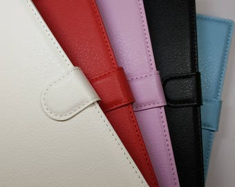 Blank BlackBerry Priv Wallet Phone Case with Strap for DIY project. Plain Mobile Phone Case for Decoration.