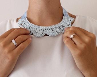 Crochet necklace. Crochet necklace.