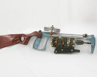 Custom one of a kind Steampunk rifle