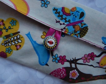 gift card holder for barrettes and hair accessories