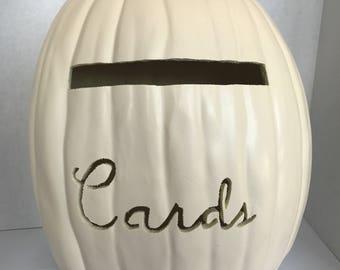 Card Box Pumpkin